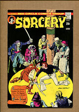 Sorcery #10 - Pirate Island! - 1974 (Grade 8.5) WH