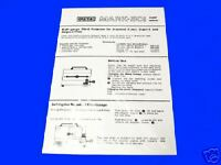 EUMIG 501 8mm Cine Projector Instruction Book