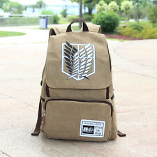Anime Attack On Titan Wing Canvas Backpack Sport School Bag Boy Girl Fashion New