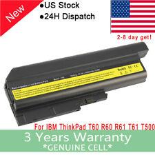 New listing 9 Cell Battery for Ibm Lenovo Thinkpad T60 T61 Z60 Z61 R60 R61 Sl300 Sl500 T61p