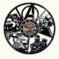 Harley Quinn Vinyl Wall Clock Record Gift Decor Poster Sing Feast Day Woman Man