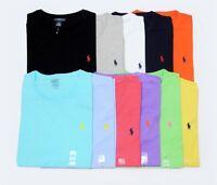 BNWT men's Ralph Lauren Cotton color Short Sleeve Polo T Shirt :All Size: S-XXL
