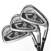 Wilson Staff Golf C300 Iron Set (Steel) - 8 Club Set - 4-PW,GW