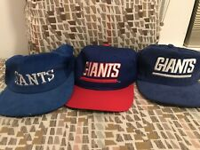 Vintage New York Giants Collectors Lot Corduroy Hat SnapBack Strapback Men's NFL