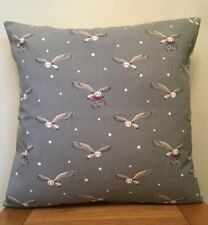 Sophie Allport **NIGHT OWL**  Christmas Cotton Cushion Cover 40cm