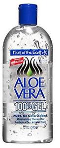 Fruit Of The Earth Aloe Vera Gel 12oz 071661001200JP