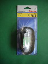 hama Telefontasche Nokia 3300 Leder schwarz Handytasche Handyhülle Schutzhülle