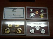 2010 United States Mint Silver Proof Set