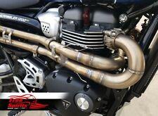 Free Spirits H-Pipe / Cat Delete Triumph Scrambler 1200 XE / XC