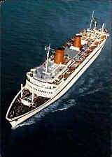 "Schiffe & Seefahrt Schiff Dampfer ""MS EUROPA"" Schiffsfoto-AK Ship Photo Postcard"