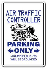 AIR TRAFFIC CONTROLLER Parking Decal control military plane flying