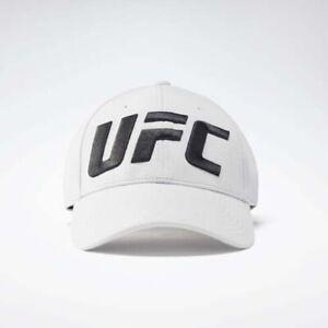 Reebok FL5194 Men hat UFC logo Baseball cap white