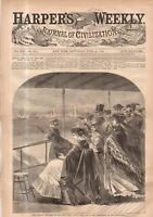 1869 Harpers Weekly June 26 - How Australians get wives; Squatters -Central Park