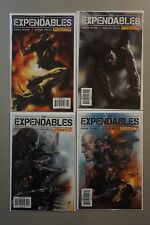 The Expendables  #1-4 1 2 3 4 (2010) Dynamite COMPLETE Run Lot Set