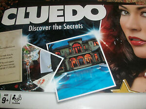 Cluedo Discover the Secrets Game Spare Weapons Cards Pieces Choose from List