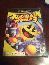 Pac-man World 3 ( Nintendo Gamecube , 2005 ) CIB !