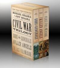 The Civil War Trilogy: Gods and Generals / The Killer Angels / The Last Full Mea