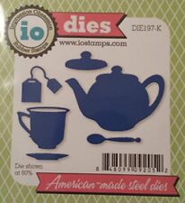 Tea Set Steel Die for Scrapbooking (Die197K)