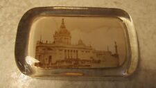 Antique 1898 Trans Mississippi Expo Glass Paper Weight