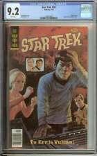 Star Trek #59 Cgc 9.2 White Pages