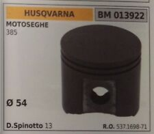 537169871 PISTON COMPLETE SEGMENTS AND SPIN CHAINSAW HUSQVARNA 385 Ø54