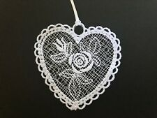 Valentine's Day Lace Ornaments - Rose