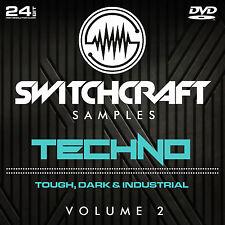 Techno vol 2-Studio de 24bit wav / échantillons de production musicale-DVD