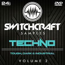TECHNO VOL 2 - 24BIT WAV STUDIO / MUSIC PRODUCTION SAMPLES - DVD