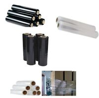 ROLLS CLEAR PALLET PACKING STRETCH SHRINK WRAP CAST PARCEL Cling Film White