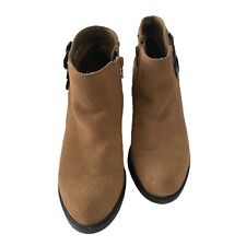 Coach Womens Ankle Boots Upper Leather Size 6M