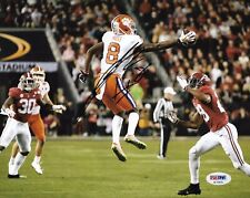 JUSTYN ROSS SIGNED CLEMSON TIGERS 8X10 PHOTO FOOTBALL CHAMPS PSA/DNA A