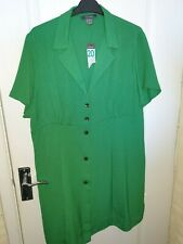 primark big plus size green summer dress top size 20
