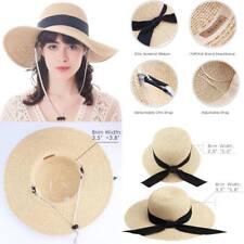 Beach Hat Women Summer fashion Sun Hat Upf 50+ Finshing Hats Bucket Straw Hat US