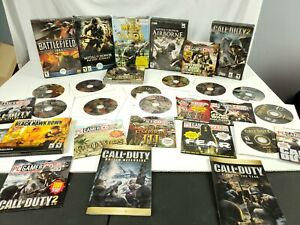PC Gamers Large Lot of Games. Call Of Duty and many others