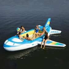 Member's Mark 6 Person Inflatable Floating Party Water Raft Giant Airplane