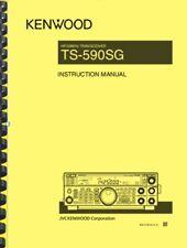 Kenwood TS-590SG Transceiver User Instruction Manual