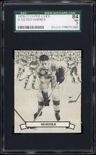 1936-37 V304 O-Pee-Chee Series D #122 Red Horner (HOF, Maple Leafs) SGC 84+++