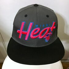 NEW ERA MIAMI HEAT SNAPBACK LEBRON 12 CHROMOSOMES 23 HAT PINK NOT FITTED HEAT