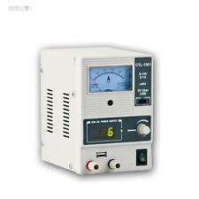 Labornetzgerät regelbar, 0-15V 0-1A + 5V USB out, Labornetzteil, Stelltrafo