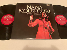 NANA MOUSKOURI - BRITISH CONCERT 1972 FONTANA RECORDS POP VINYL LP