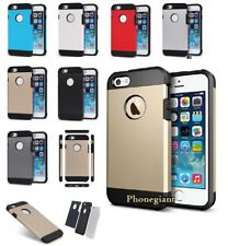 Dual Layer Hybrid Hard Armor Case Cover For Various Apple Samsung Mobile Phones