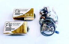 Two Epiphone Alnico Classic 57 Humbucker Pickup Chrome -