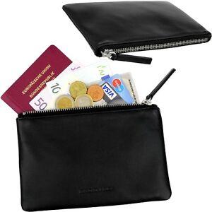 Mandarina Duck Purse Car Bag Bank Document Money Bag Folder Travel Pass Case