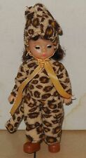 2003 Mcdonalds Happy Meal Toy Madame Alexander Halloween Leopard Costume