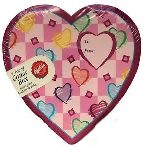 Half Pound Heart Candy Box from Wilton 2001 NEW