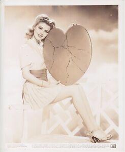 Rare Original Dolores Moran leggy pin up 8x10 photo
