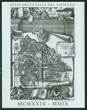2009 Vatican City Sc# 1410: 80th Anniversary of the Vatican State MNH sheetlet