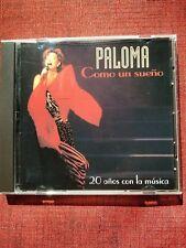 Como Un Sueno by Paloma San Basilio (CD, Aug-1996, EMI Music Distribution)