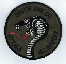 396 Avn Co, Attack Helicopter (US Army Aviation Patch) (1979)