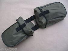 Horntasche Packtasche Satteltasche Sonderposten grün/schwarz